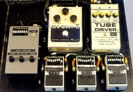 famous musician pedalboard pics with ehx electro harmonix forums. Black Bedroom Furniture Sets. Home Design Ideas