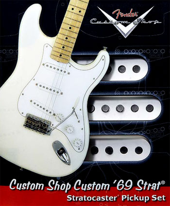 Fender Custom Shop 69 pickups review | Gilmourish Com - The