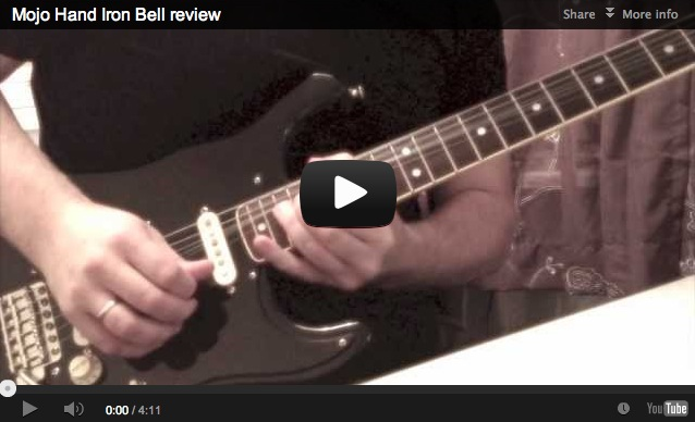Mojo Hand Iron Bell review | Gilmourish Com - The largest