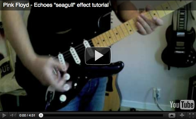 """Echoes """"seagull"""" effect tutorial 