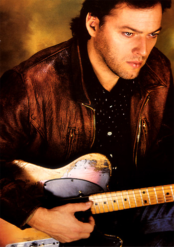 David Gilmour with famed Workman Tele in 1984