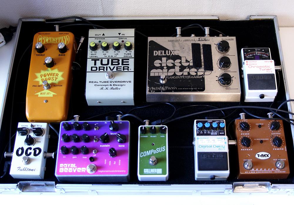 my pedal board. Black Bedroom Furniture Sets. Home Design Ideas
