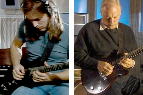 David Gilmour Bill Lewis guitar