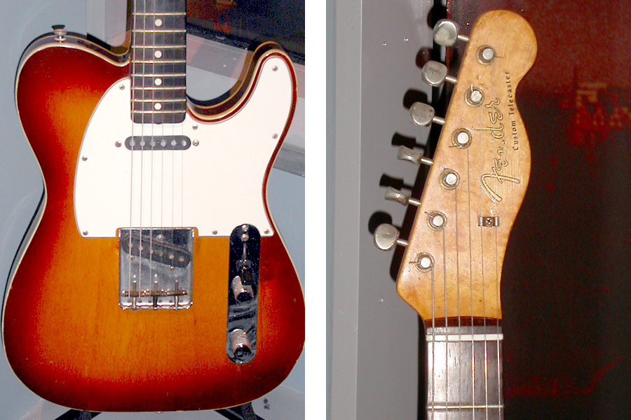 Telecasters | Gilmourish Com - The largest David Gilmour