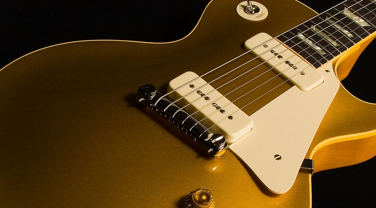 David Gilmour - Tone Les Paul Goldtop