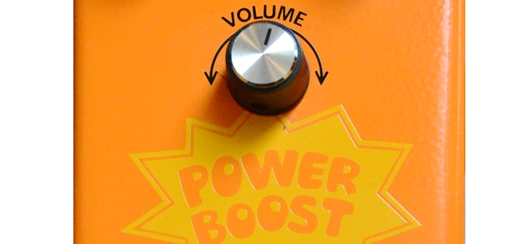 Buyer's Gear Guide - Colorsound Powerboost