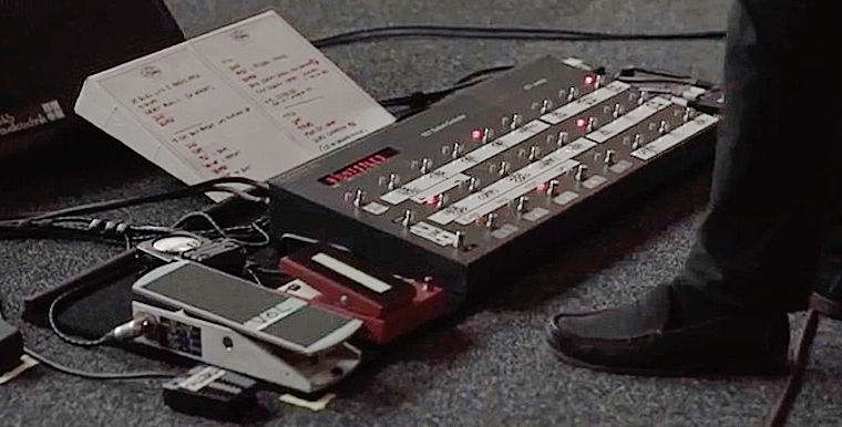 David Gilmour - Rattle That Lock pedalboard