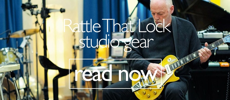 David Gilmour - Rattle That Lock studio gear
