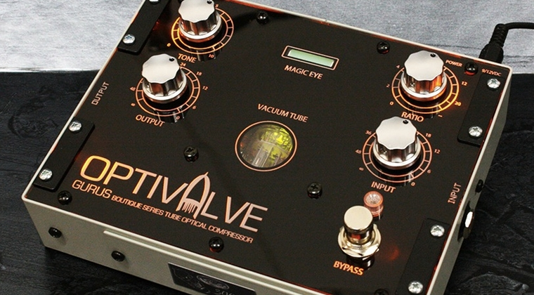 Gurus Amps Optivalve compressor review