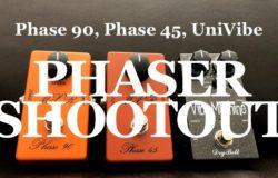 David Gilmour - phaser tones