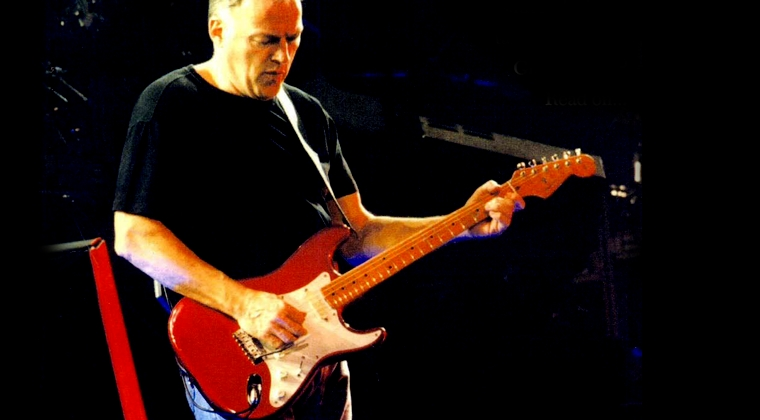 David Gilmour V57 Candy Apple Red Fender Stratocaster